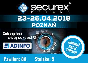 Zaproszenie na targi securex 2018